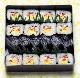 Thick rolled Crab Sushi for Gift