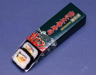 Thick rolled Crab Sushi